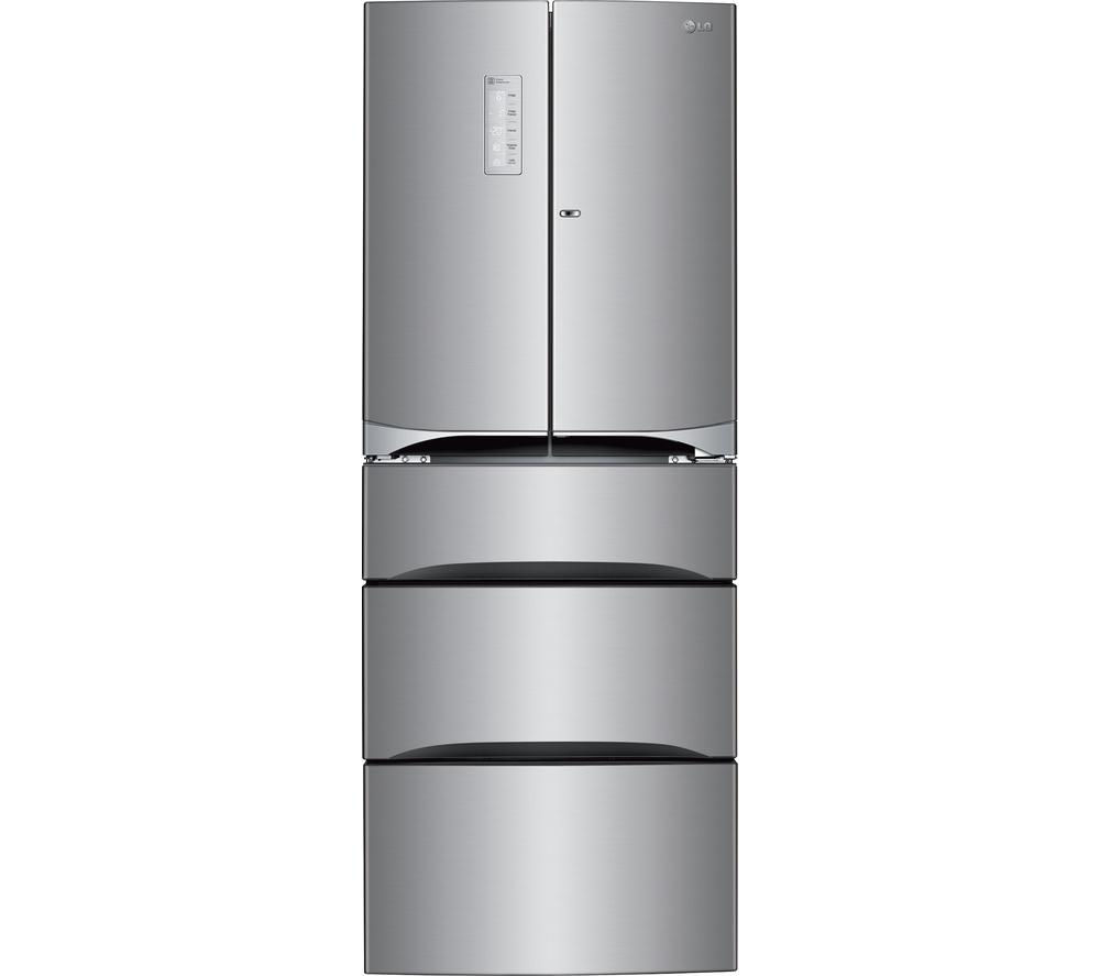 Compare prices for LG GM6140PZQV Fridge Freezer Stainless Steel