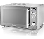 SWAN SM3080N Solo Microwave - Silver