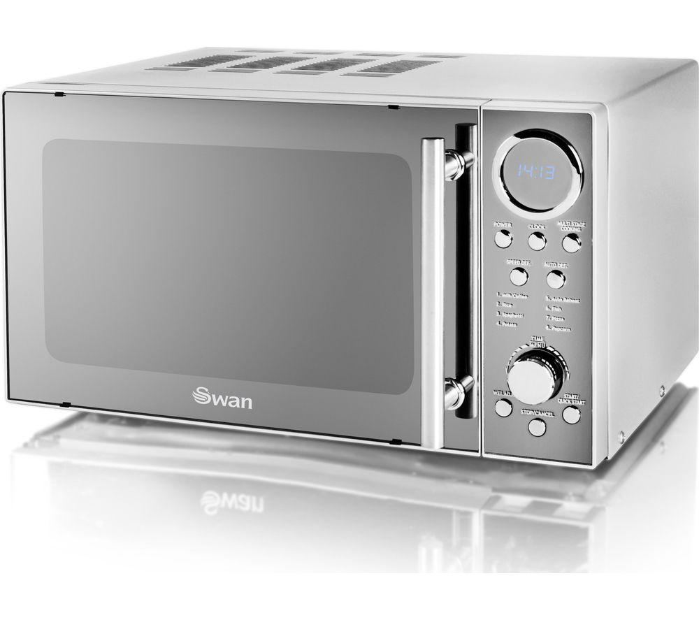 Sm3080n Solo Microwave Silver