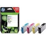 HP 364 Cyan, Magenta, Yellow & Black Ink Cartridges - Multipack