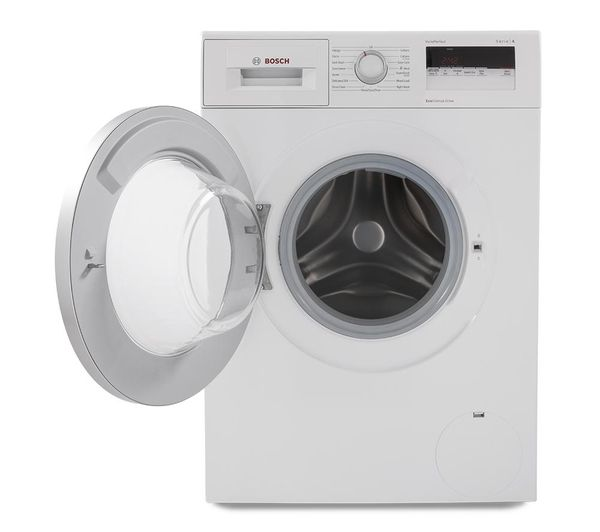 buy bosch serie 4 wan24100gb washing machine white free delivery currys. Black Bedroom Furniture Sets. Home Design Ideas