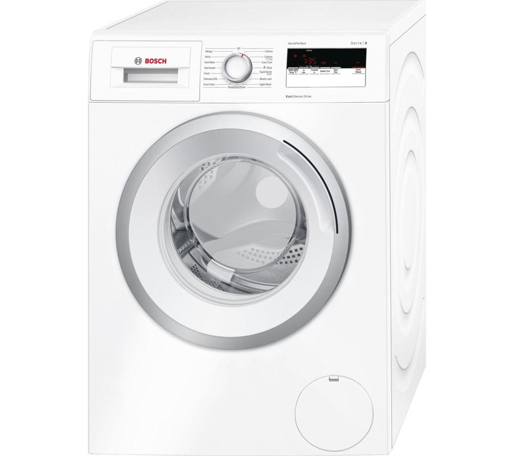 BOSCH Serie 4 WAN24100GB Washing Machine - White, White