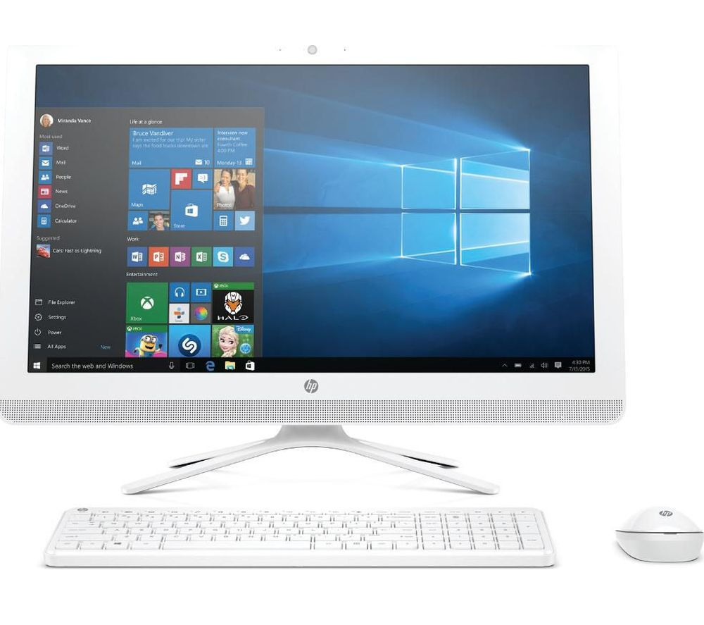 "HP 24-g080na 24"" All-in-One PC - White"