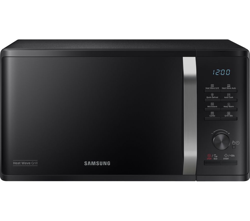 SAMSUNG MG23K3575AK/EU Heat Wave Microwave with Grill - Black