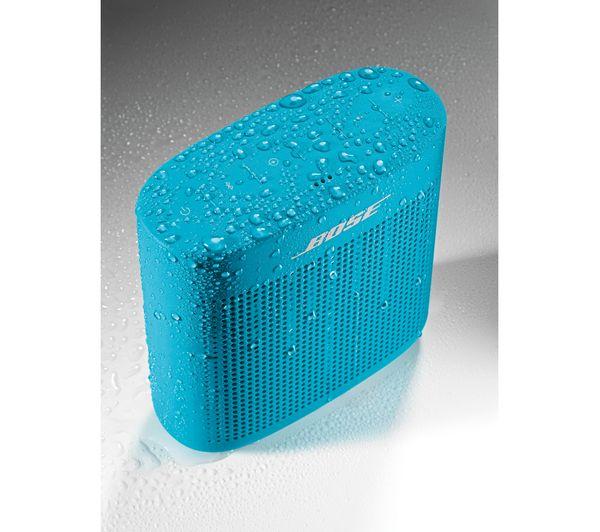bose soundlink color. bose soundlink color ii portable bluetooth wireless speaker - aqua bose