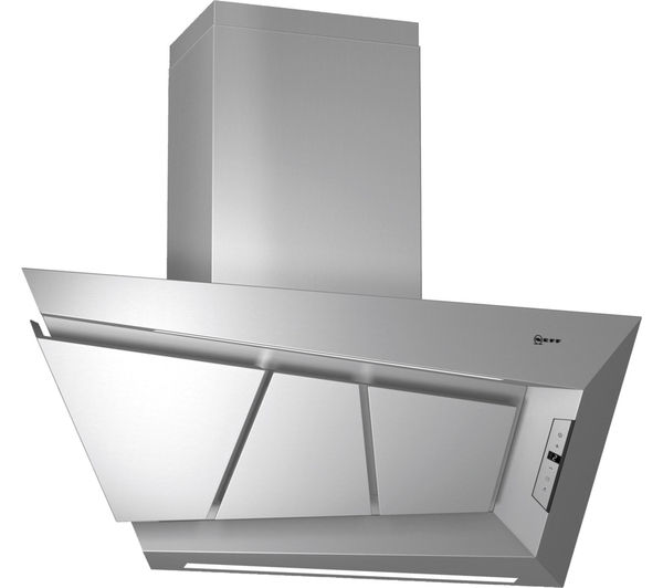 Image of NEFF D99L20N0GB Chimney Cooker Hood - Stainless Steel, Stainless Steel