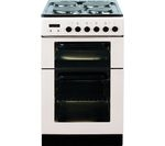 BAUMATIC BCE520W Electric Solid Plate Cooker - White