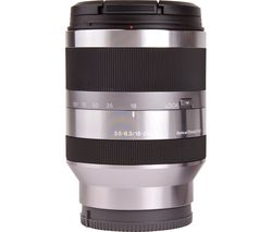 SONY E 18-200 mm f/3.5-6.3 OSS Telephoto Zoom Lens
