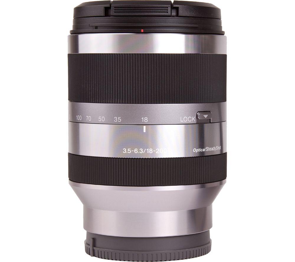 SONY E 18-200 mm f/3.5-6.3 OSS Telephoto Zoom Lens