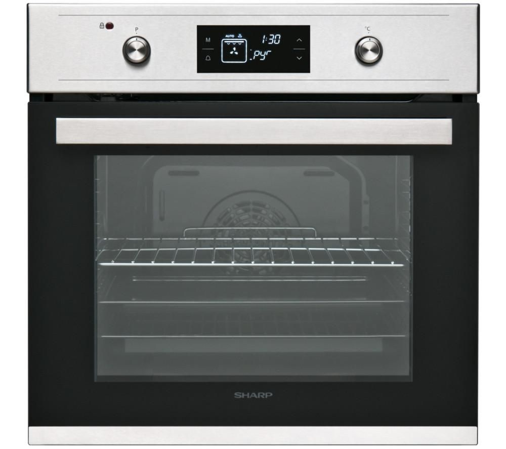 SHARP K-61V28IM1 Electric Oven - Black, Black