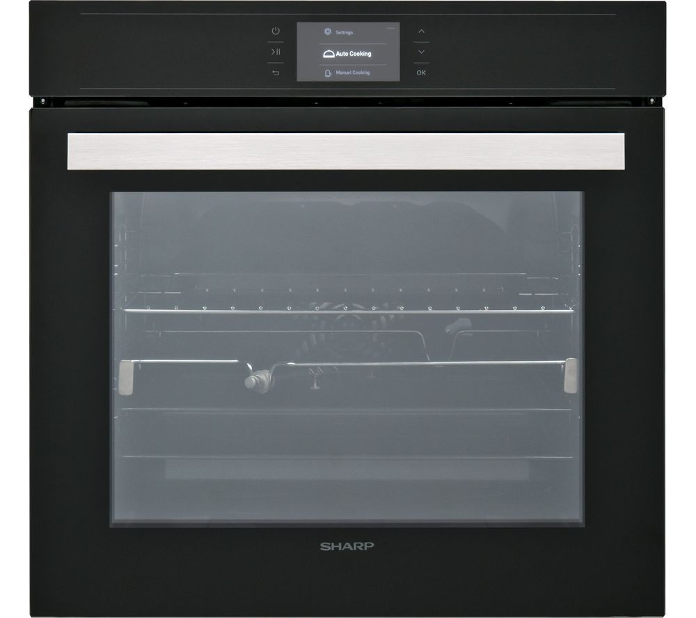 SHARP KS-70T50BHH Electric Oven - Black
