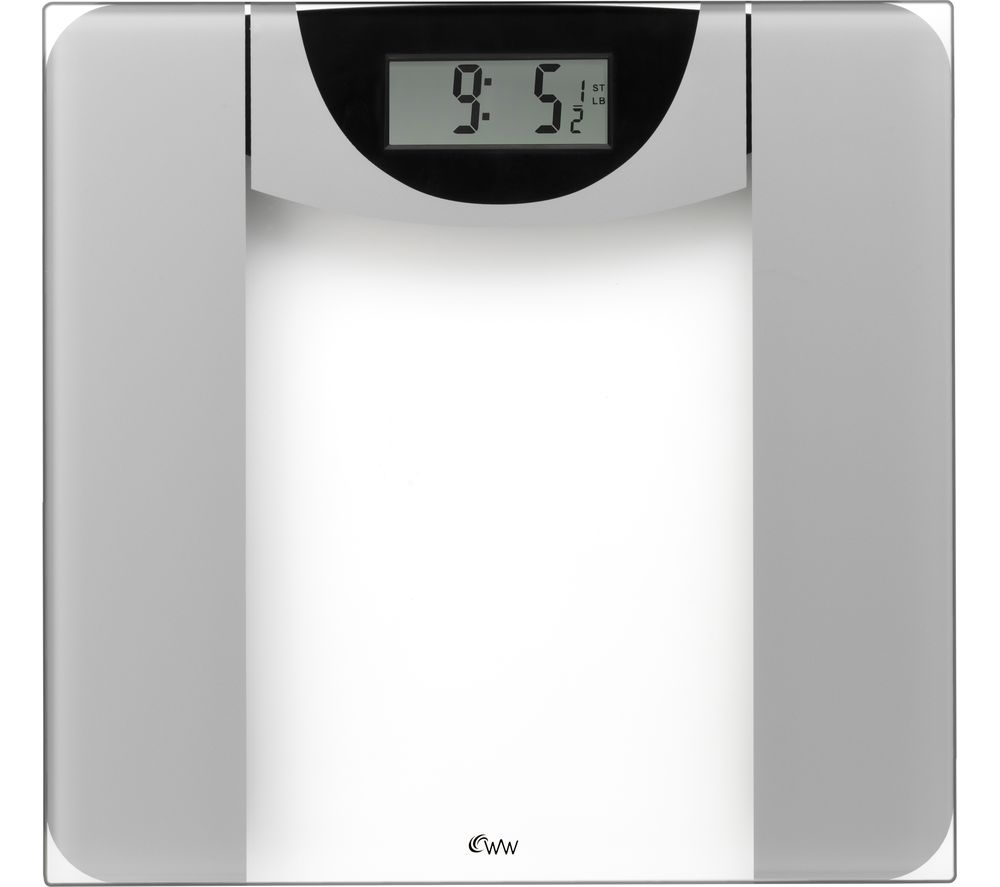 WEIGHT WATCHERS Ultra Slim Glass Scale