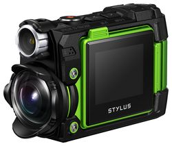 OLYMPUS TG-Tracker 4K Ultra HD Action Camera - Green