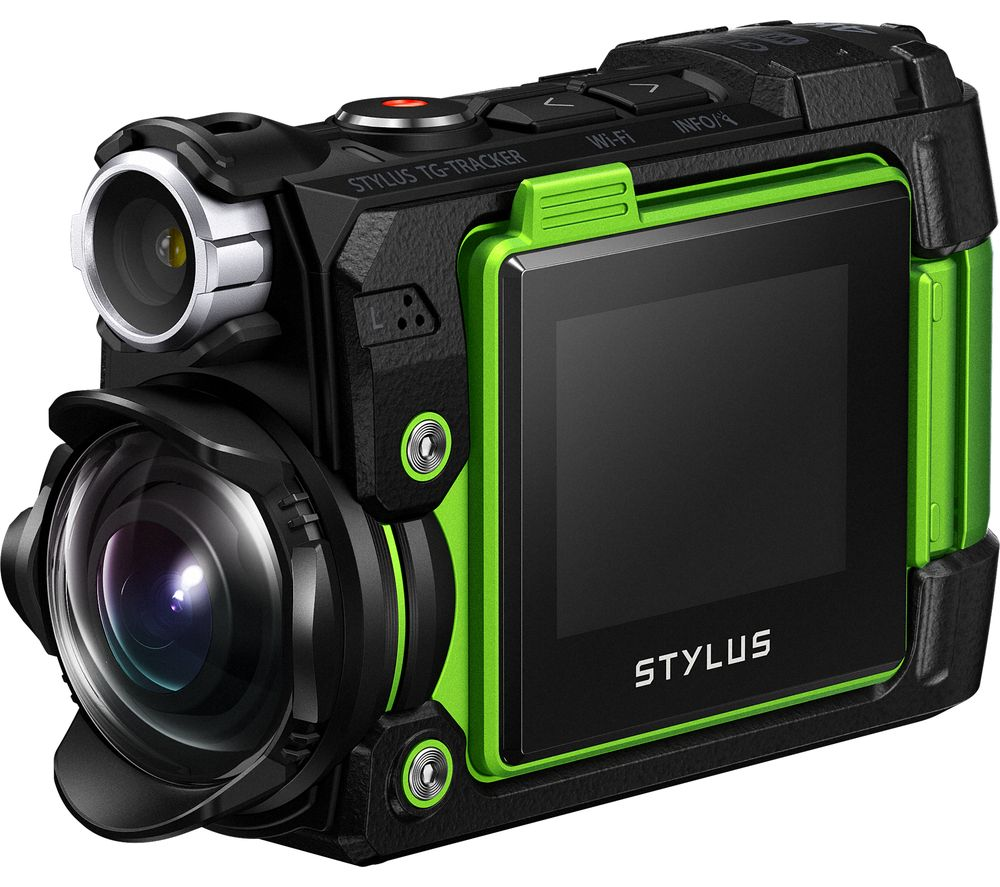 OLYMPUS TG-Tracker 4K Ultra HD Action Camera - Green