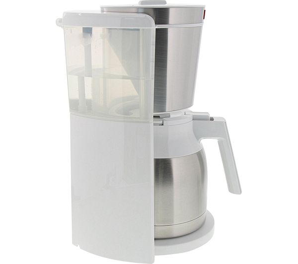 Look Iv Therm Timer Filter Coffee Machine White Stainless Steel