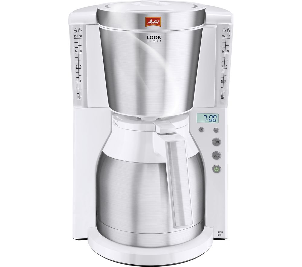 Compare prices for Melitta Look IV Therm Timer Filter Coffee Machine Stainless Steel