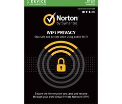 NORTON Wi-Fi Privacy 2018 - 1 User for 1 Year