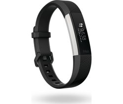 FITBIT Alta HR - Black, Small