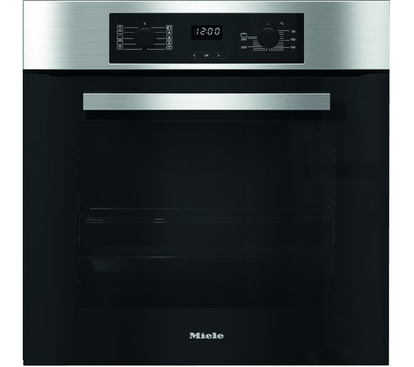 MIELE H2265B clst Electric Oven - Clean Steel