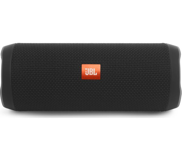 JBL Flip 4 Portable Bluetooth Wireless Speaker - Black