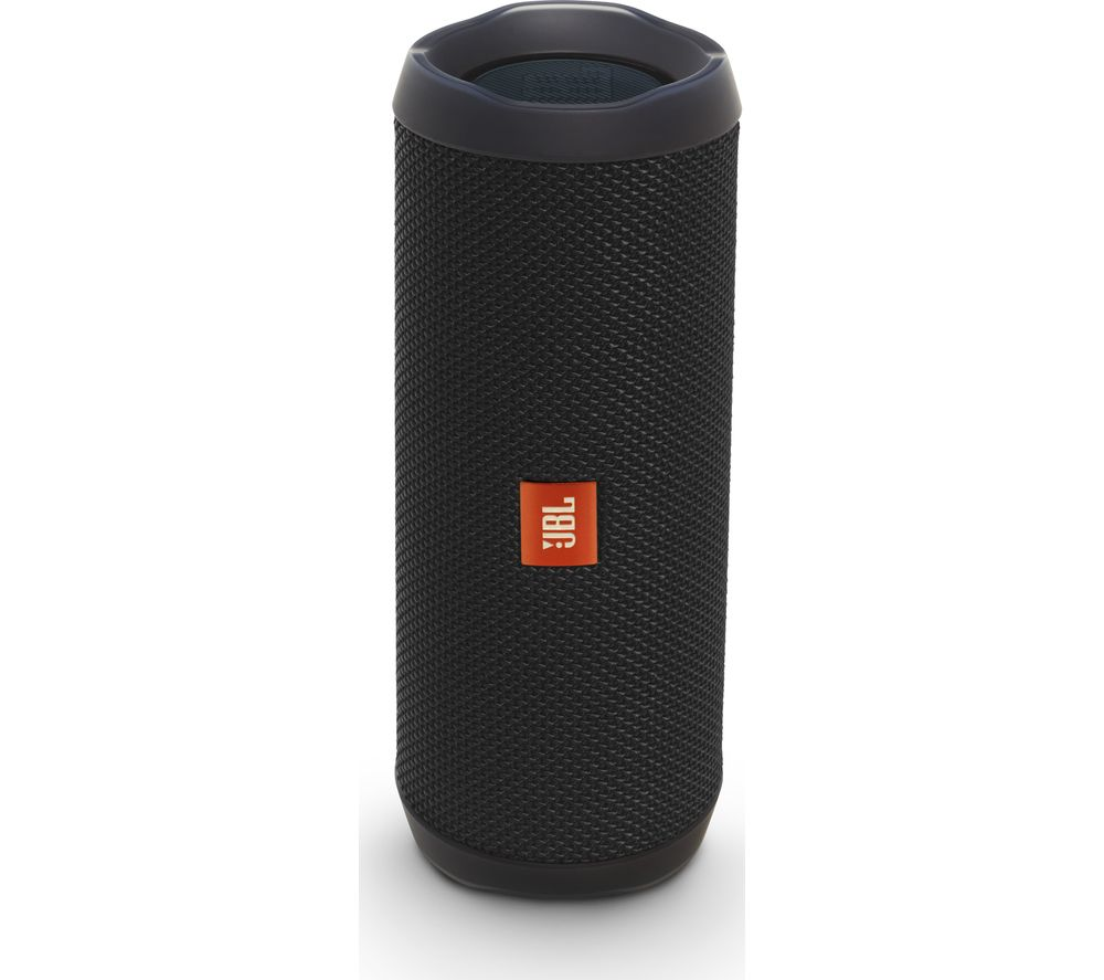 buy jbl flip 4 portable bluetooth wireless speaker black free delivery currys. Black Bedroom Furniture Sets. Home Design Ideas