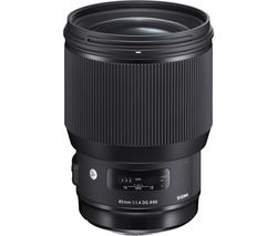 SIGMA 85 mm f/1.4 DG HSM Standard Prime Lens - for Canon