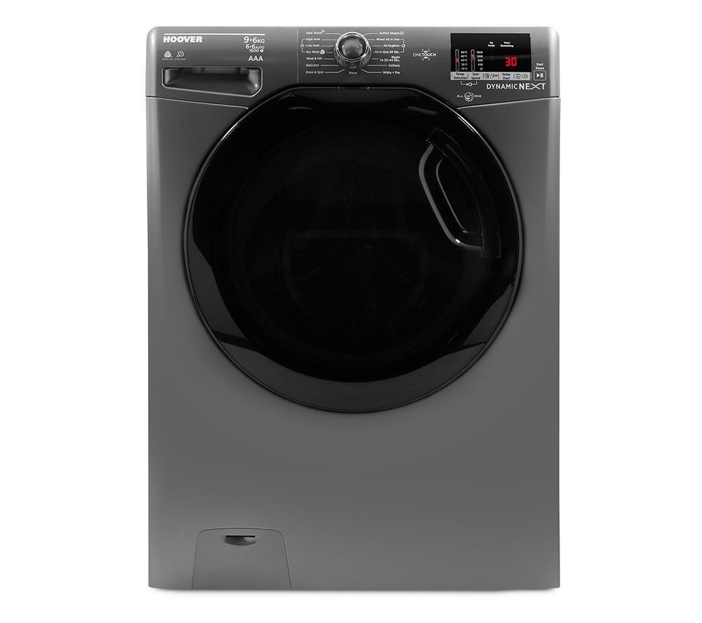 HOOVER Dynamic WDXOC696AKR NFC 9 kg Washer Dryer - Graphite