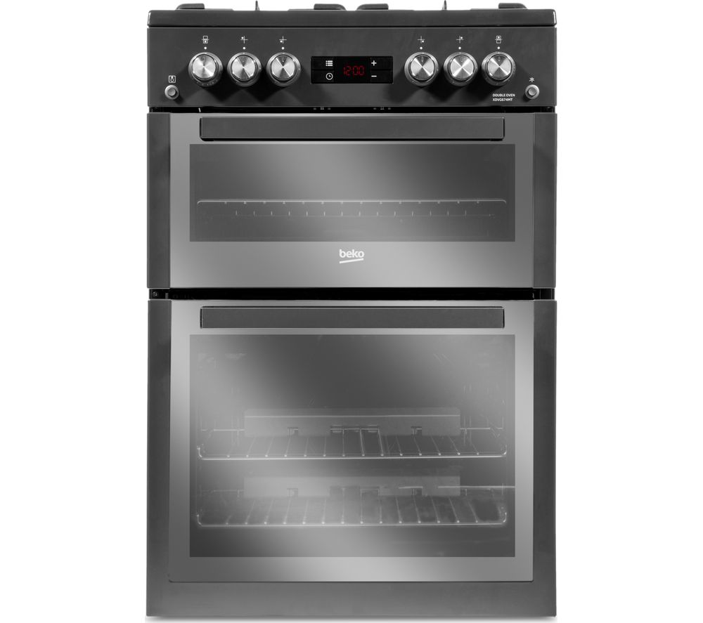 BEKO Pro XDVG674MT 60 cm Gas Cooker - Anthracite