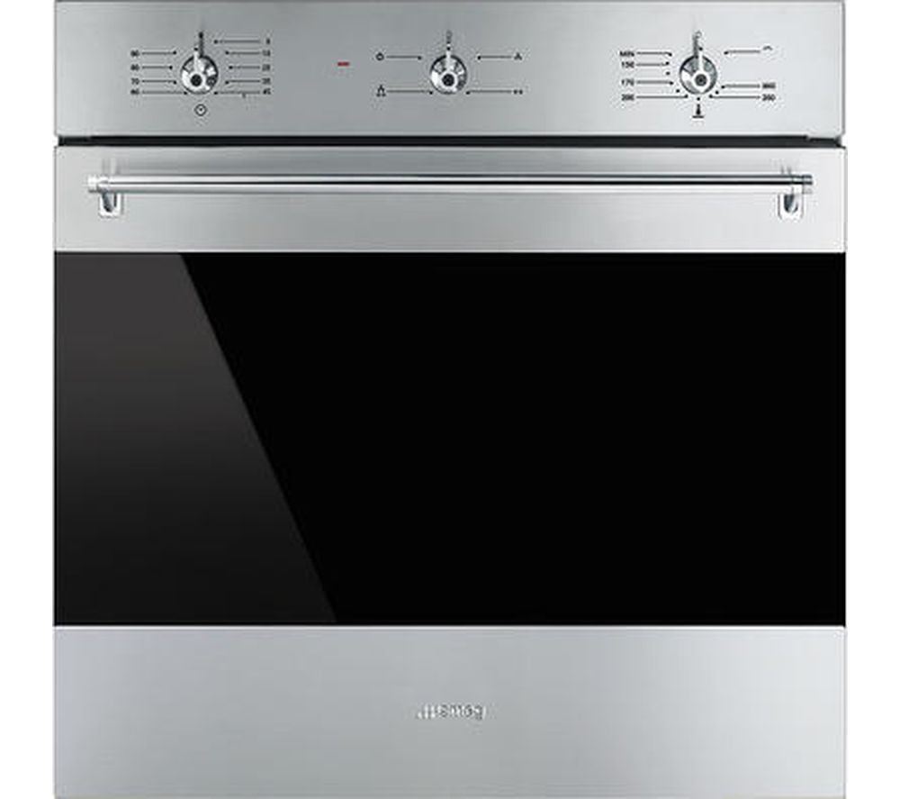 Image of SMEG Classic SF6341GVX Gas Oven - Stainless Steel, Stainless Steel