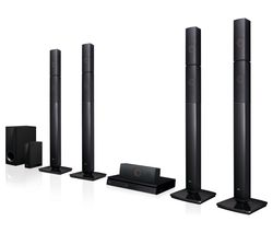 LG LHB655NW 5.1 3D Blu-ray & DVD Home Cinema System
