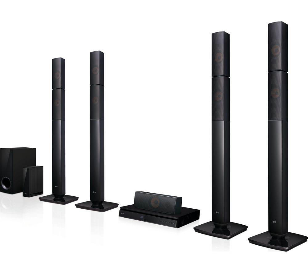 Compare prices for LG LHB655NW 5.1 3D Blu-ray and DVD Home Cinema System