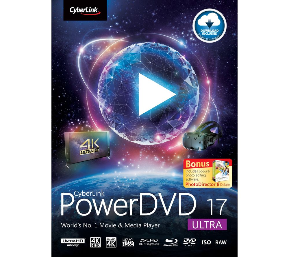 Compare retail prices of Cyberlink PowerDVD 17 Ultra to get the best deal online