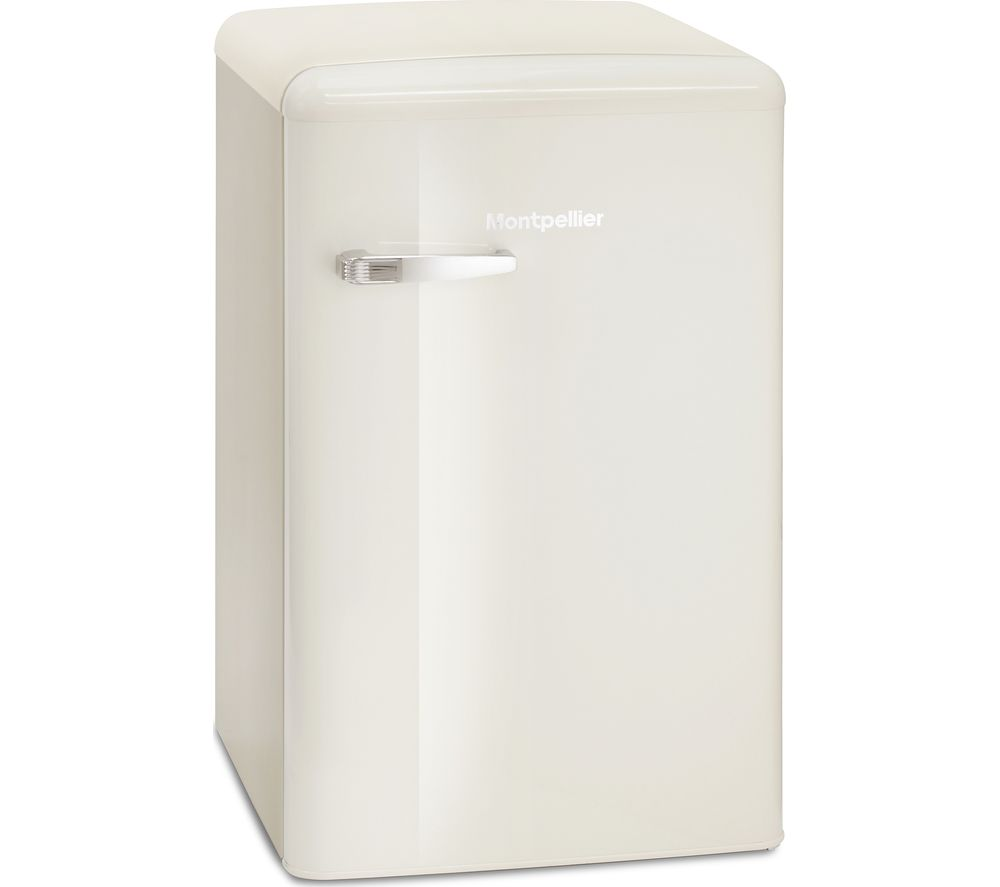 MONTPELLIER MAB550C Fridge – Cream, Cream