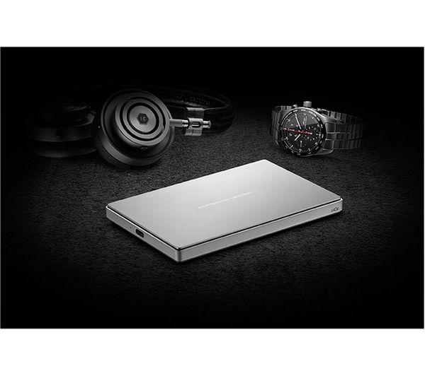 Lacie Seagate Porsche Design Portable Hard Drive 1 Tb