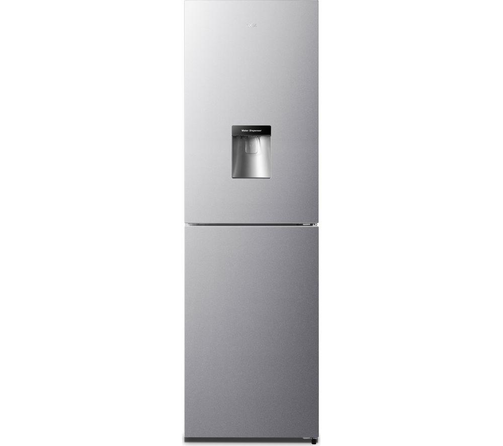 LOGIK LNFD55X18 50/50 Fridge Freezer - Inox