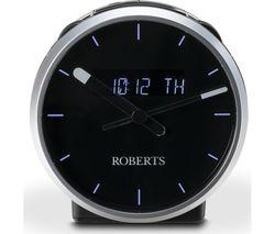 Ortus Time DAB+/FM Clock Radio - Black