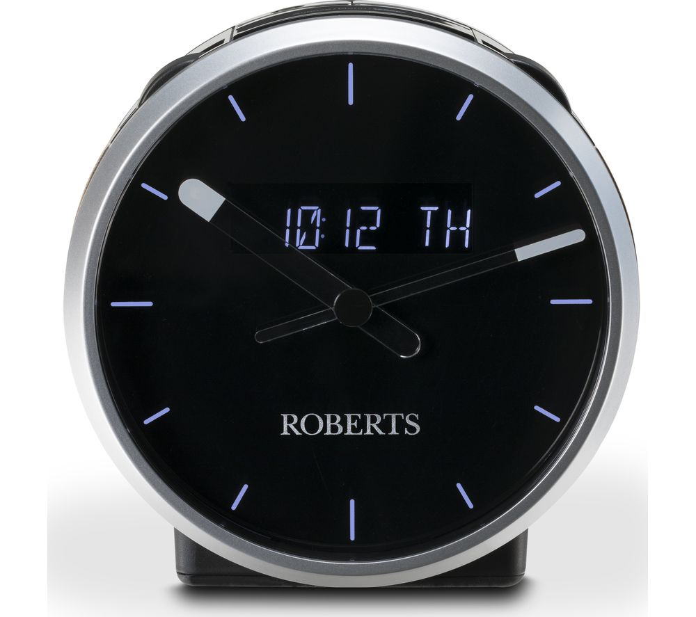 ROBERTS Ortus Time DAB+/FM Clock Radio - Black