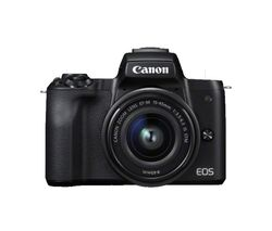 EOS M50 Mirrorless Camera with EF-M 15-45 mm f/3.5-5.6 IS STM Lens