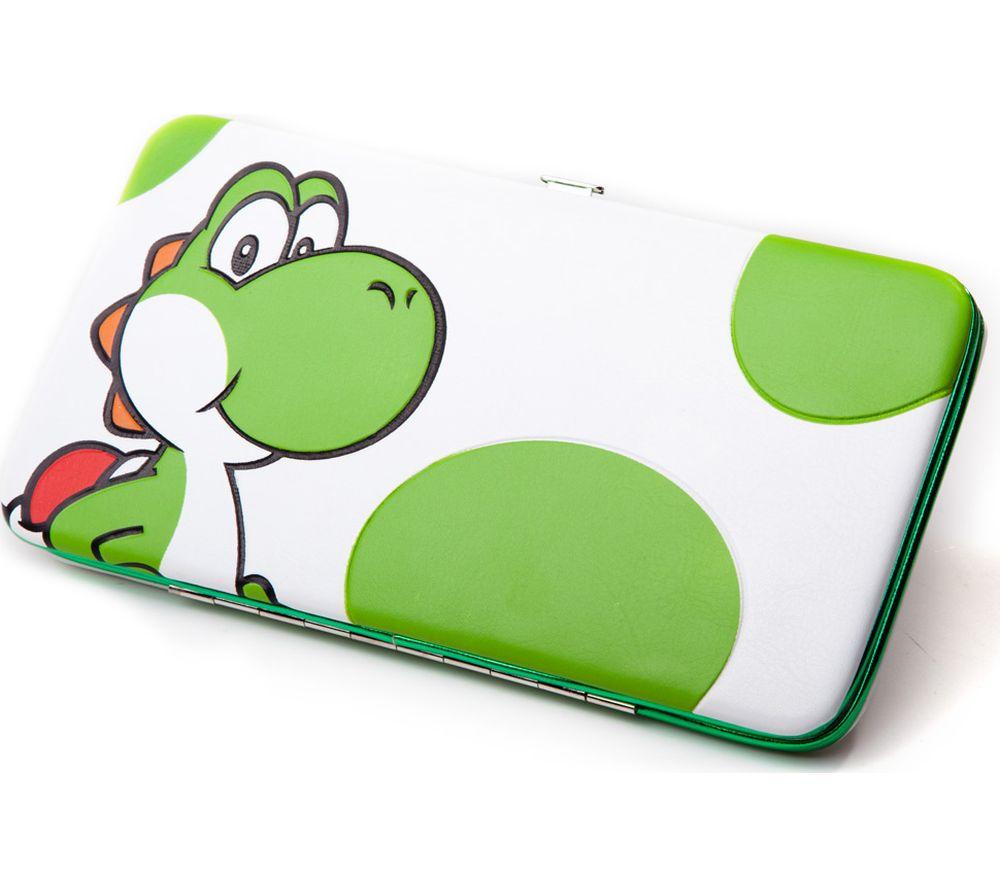 NINTENDO Yoshi Printed Hinge Wallet - White & Green