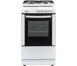 CFSGWH18 50 cm Gas Cooker - White