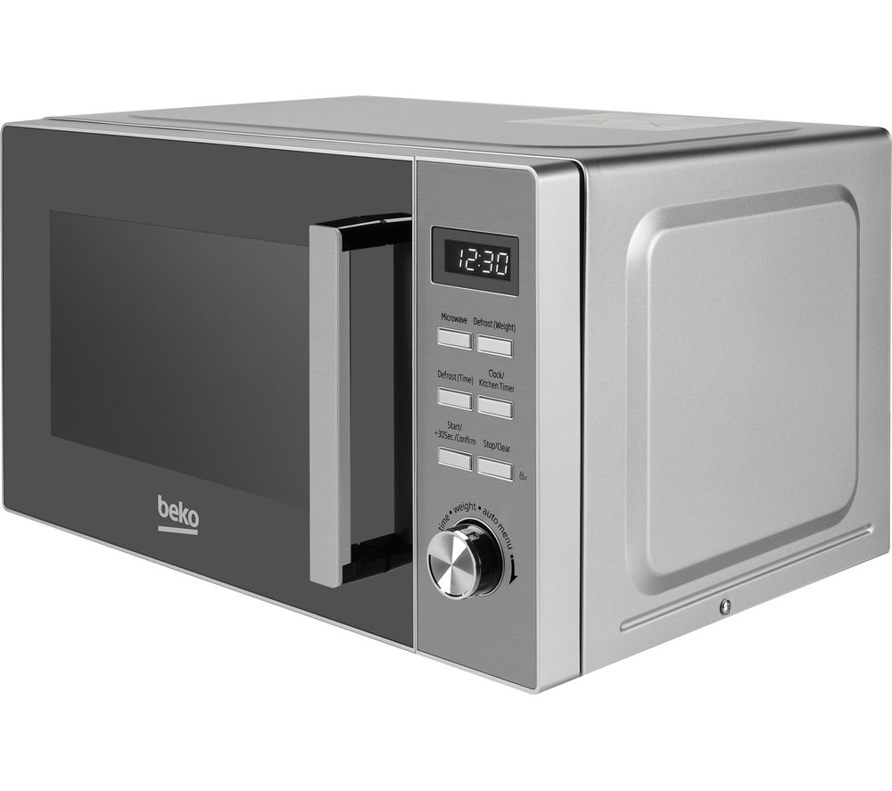 BEKO MOF20110X Compact Solo Microwave - Stainless Steel