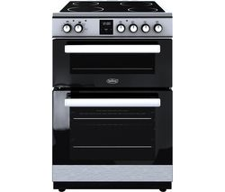 BELLING FSE608DPc 60 cm Electric Ceramic Cooker - Stainless Steel & Black
