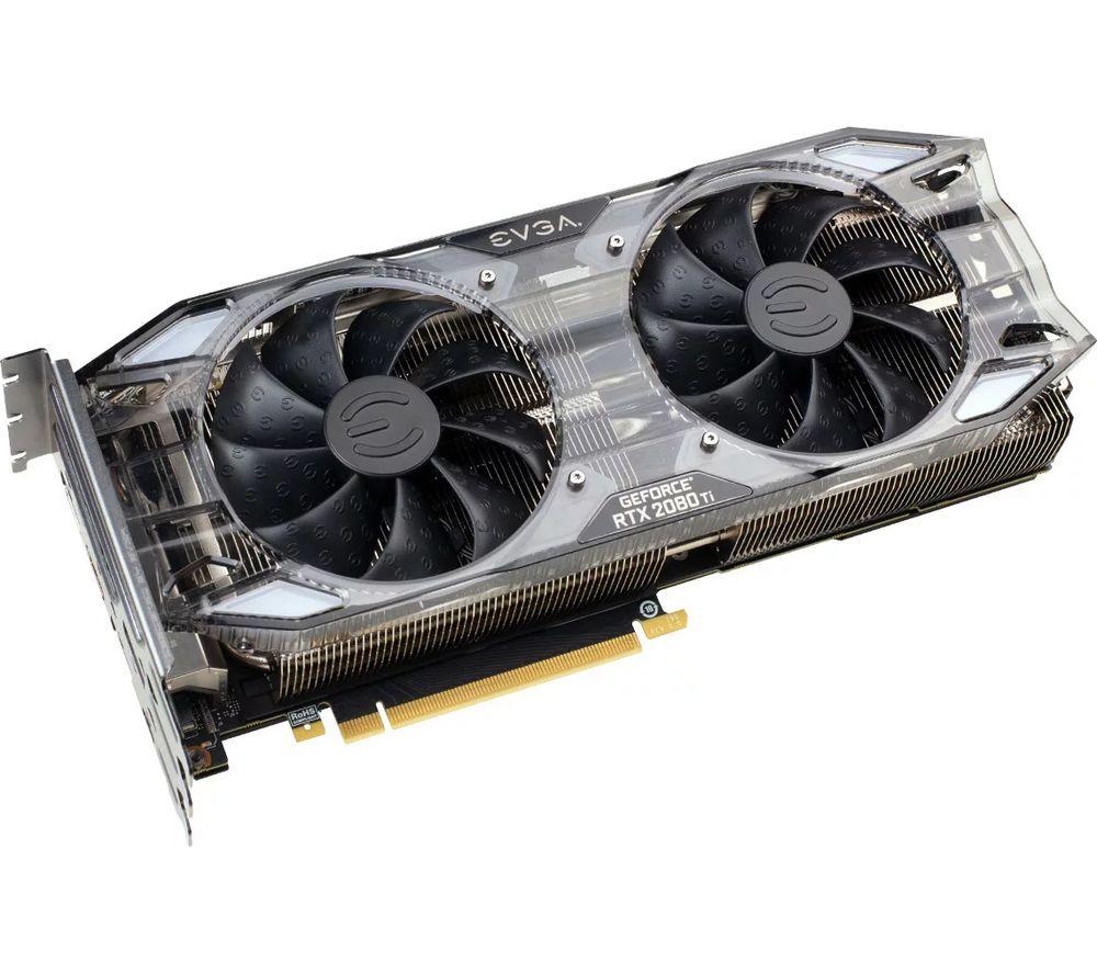 EVGA GeForce RTX 2080 Ti 11 GB XC ULTRA GAMING Turing Graphics Card