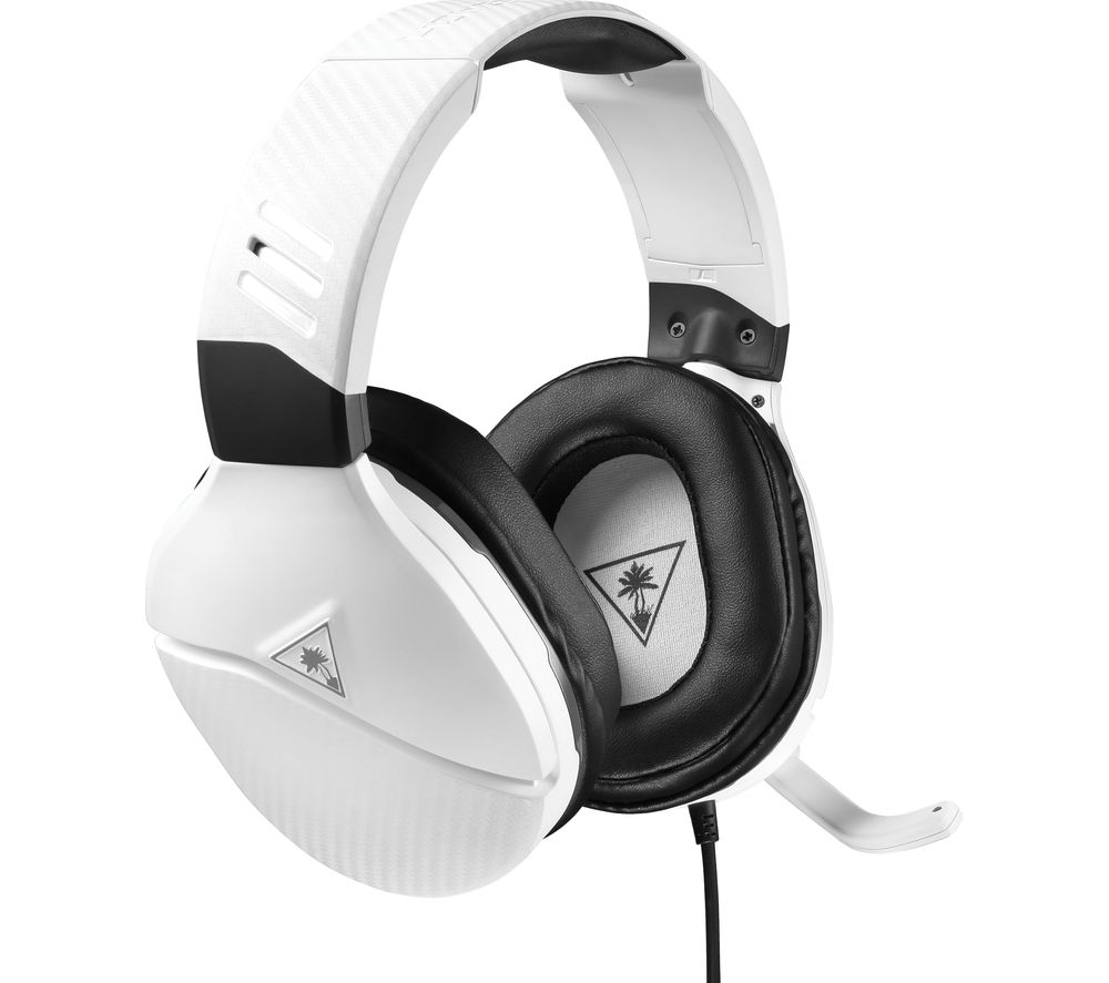 Image of TURTLE BEACH Recon 200 Amplified Gaming Headset - White, White