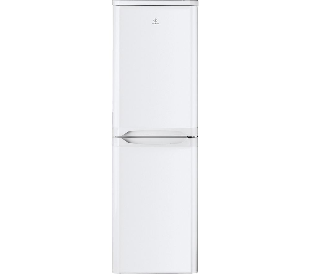 INDESIT IBD5517WUK 50/50 Fridge Freezer - White, White