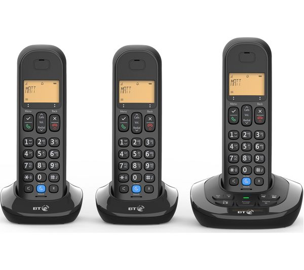 BT 3880 Cordless Phone - Triple Handsets