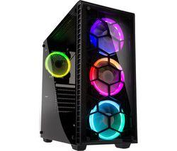 KOLINK Observatory RGB E-ATX Mid-Tower PC Case - Black