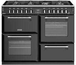 STOVES Richmond S1100DF 110 cm Dual Fuel Range Cooker - Black