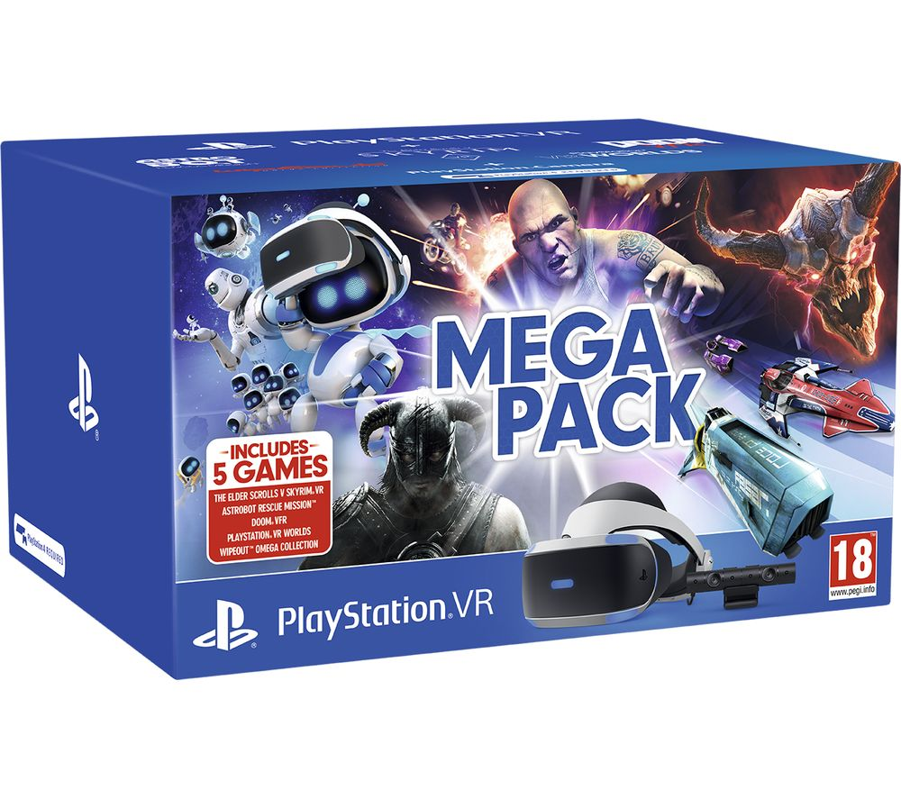 SONY PlayStation VR Mega Pack specs