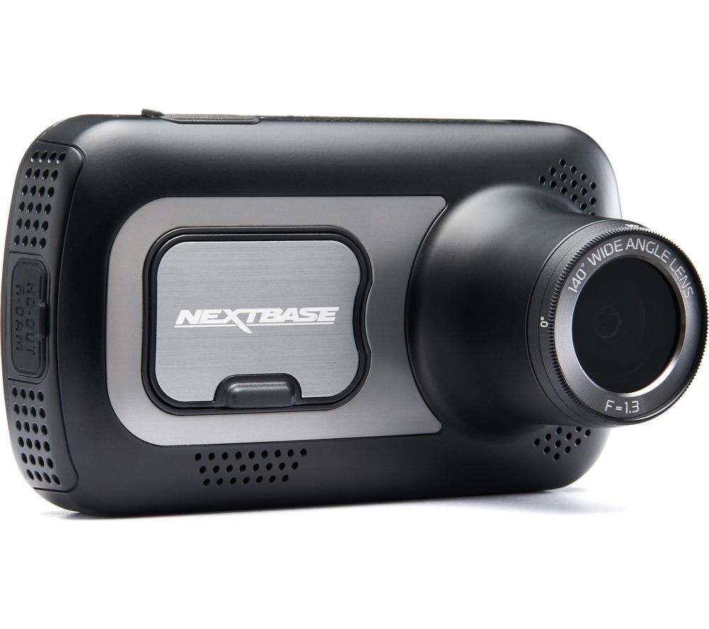 NEXTBASE 522GW Quad HD Dash Cam with Amazon Alexa – Black, Black